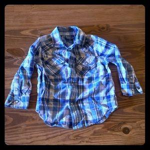 Boys Polo Button Up